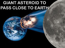 Giant asteroid to pass close to Earth