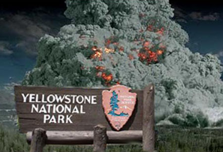 Yellowstone Supervolcano eruption
