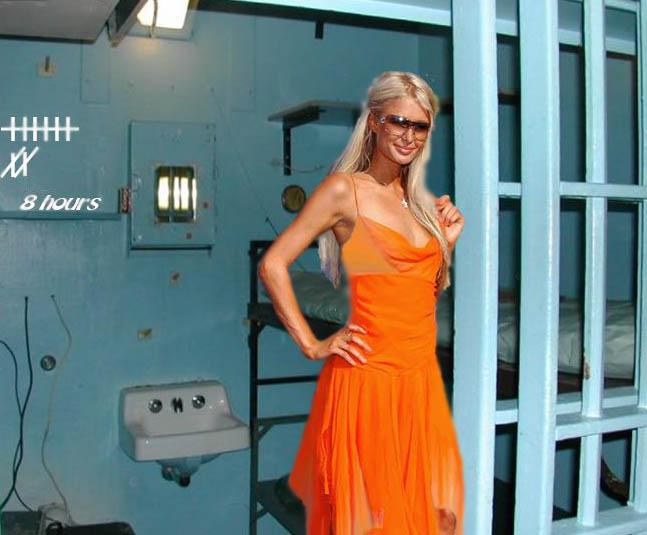 Picture Of Paris Hilton In Prison Cell