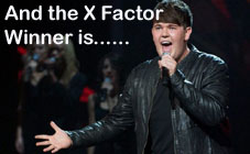 And the X Factor winner is...